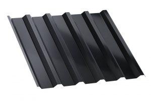 Blacha trapezowa Regamet. Profil T35 jest przeznaczony dostosowania narozległych powierzchniach dachowych oniewielkim nachyleniu